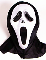 Halloween Masks Ghost Scary Scream Festival Supply For Halloween / Masquerade 1PCS 2 Color Selected