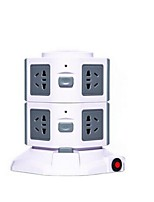 New Xigang Vertical Socket Row Row 2 Layer Cube Smart Socket Multi - Purpose Usb Power Outlet Row Plug
