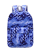 Women Polyester Casual / Outdoor Backpack Purple / Blue / Green / Red