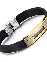 Kalen New Cool Leather Bracelet Fashion 316 Stainless Steel Charm Bracelet Men's Fashion Accessory Friendship Gifts