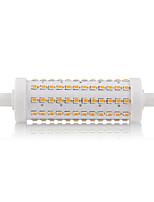 R7S 118mm 108 x 2835SMD 15W Warm White / Cool White 800LM 360Beam Horizontal Plug Lights Dimmable Flood Light AC85-265V
