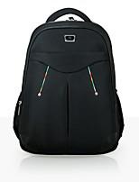 Men Nylon Outdoor Backpack Brown / Black