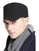 Men women summer Casual outdoor breathable military cap fla Outdoor Solid color sun peaked cap