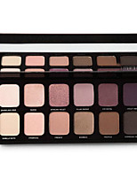 12 Eyeshadow Palette Matte / Shimmer Eyeshadow palette Powder Normal Daily Makeup / Halloween Makeup / Party Makeup / Cateye Makeup