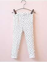 Girl's Casual/Daily Print LeggingsCotton Spring / Fall Pink / White
