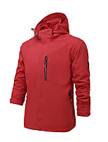 Hiking Softshell Jacket Unisex Waterproof / Breathable / Thermal / Warm / Quick Dry / Windproof / Wearable /  TactelRed