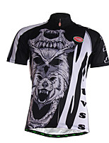 Sports Cycling Jersey Men's Short Sleeve Breathable / Quick Dry / Front Zipper / Soft / Comfortable Bike