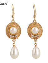 Earring Crystal / Imitation Pearl Earring Back / Drop Earrings Jewelry Women Wedding / Party / Daily / CasualCrystal / Alloy / Imitation