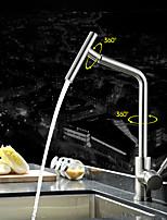 Современный / Ар деко / Ретро / Modern Стандартный Носик Чаша Дождевая лейка / Широкий Spary with  Керамический клапанОдной ручкой одно