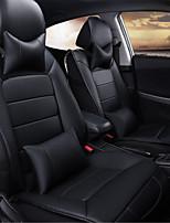 сезоны подушки полный кожа сиденье автомобиля