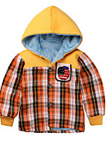 Boy Casual/Daily Plaid Blouse,Cotton Winter / Spring