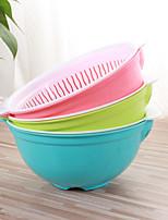1шт цвет случайных домохозяйство кулинарное окружающей среды фрукты мыть посуду многофункциональный бассейн AAD корзина