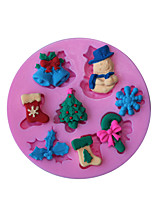 1 Cozimento Anti-Aderente / Ecológico / Bricolage / Ferramenta baking / 3D / Alta qualidadeGelo / Pão / Bolo / Biscoito / Cupcake / Torta