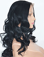 Long Legnht Peruvian Hair Lace Front  Wigs  Body Wave Synthetic  Lace Front Wigs For Black Women