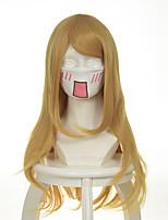 Shugo Chara kadna goldenen geschweiften Halloween Perücken synthetische Perücken Kostüm Perücken
