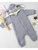 Baby Casual/Daily Solid One-Pieces,Cotton Winter / Fall Long Sleeve