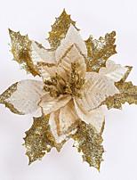 joyeux Noël! nouveau diamètre 17cm Noël père artificiel décoration florale de noël Addobbi   noël natal ornement arbre