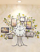 Модерн Домики Настенные часы,Новинки Стекло / Металл / Полирезина 80*68cm В помещении Часы