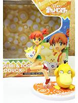 Digital Monster / Digimons Misty PVC 10cm Anime Action Figures model Toys Doll Toy