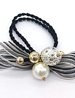 Women Silver Plated / Rhinestone / Pearl Headband,Vintage / Party / Work / Casual