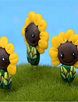 Moss Micro Landscape Tree DIY Decorative Materials Decoration Landscape Sunflower Sunflower