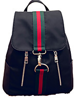 Casual Shopping Backpack Women Nylon Black
