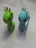 Giraffe Keychain LED Flashlight