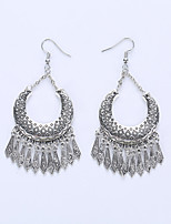 European And American Fashion Crescent Tassels Eardrop Selling Alloy Earrings