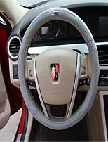 кожаный руль крышка комплекты кожаной кожи автомобиля