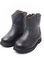 Boy's Boots Comfort Patent Leather Casual Black