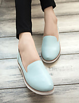 Women's Loafers & Slip-Ons Spring / Summer / Fall / Winter Comfort PU Casual Flat Heel Others Blue / Pink / White Others