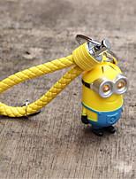 luz - emitindo pequena cadeia anel chave do carro amarelo