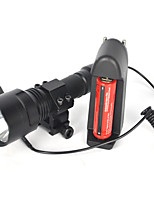 5000LM XML T6 LED Linterna Lamp Linterna Montura Rifle 18650 Full set Of Battery Charger