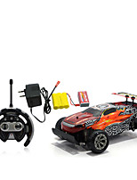 Car Racing 566-109 110 Brush Electric RC Car / 2.4G Red / Blue Ready-To-Go Remote Control Car
