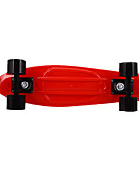 Four-Wheel Banana Skateboard (Note Red)