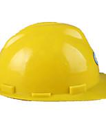 v-конструкция из пластика шлем (желтый)