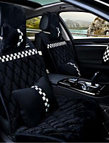 Diamond Lattice Down Car Cushion