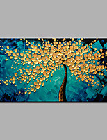 Hand-Painted 100% Hang-Painted Oil Painting Modern Abstract Canvas Oil Painting For Home Decoration Tree Oil painting