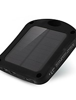 SUNWALK 6000mAh 2 in 1 Window Solar Charger Power Bank with Suction Cup & LED Sensor Lights for Mobile Phone