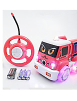 Car Racing 566-5A 110 Brush Electric RC Car / 2.4G Pink Ready-To-Go Remote Control Car