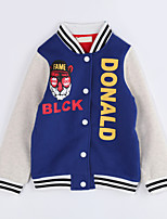 Boy Casual/Daily Color Block Suit & Blazer,Cotton Fall Long Sleeve