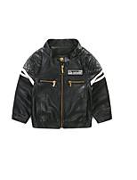 Boy's Casual/Daily Solid Jacket & CoatAcrylic Spring / Fall Black