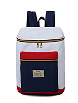 Women Polyester Casual / Outdoor School Bag White / Blue / Red / Gray / Black