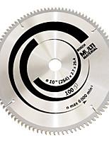 Multifunktions-Legierung Kreissägeblatt (10 Zoll * 100 Zähne (Holz und Aluminium Kunststoff Mehrzweck))