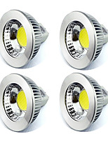 Superior MR16 Led Lamp Bright COB Down Llight 60 Beam Angle White/Warm AC/DC 12V UL Listed (4 Pieces)