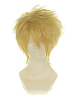 Amnesia Toma Light Gold Versatile Cupola Halloween Wigs Synthetic Wigs Costume Wigs