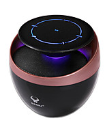 RICHSO Touch Screen Multimedia Mini HIFI Bluetooth Speaker with Stereo FM AUX Wireless Super Bass Built in Mic