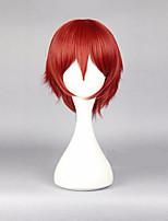 30cm animés cosplays assassinat classromm karma akabane cosplay costume rouge mâle perruque  Perruque cheveux synthétiques