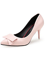 Women's Heels Summer Others PU Dress Stiletto Heel Others Black / Pink / Red / White Others