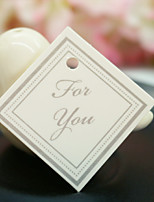 DIY Thank You tag Wedding Packaging Materials Accessory (6pcs/bag) 3.5*3.5 cm Beter Gifts® DIY Crafts Inspirations